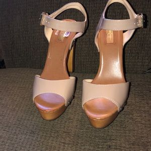 Patent leather sandal New never worn